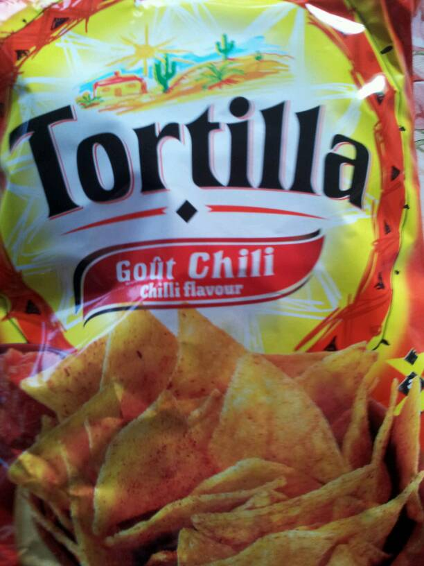 Belle France Tortilla Chips Chili 150 g -