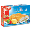 Filets de cabillaud panes - 4 pieces