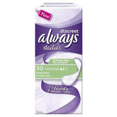 Always proteges-slips discreet normal x30