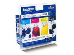 PACK CARTOUCHE BROTHER LC980