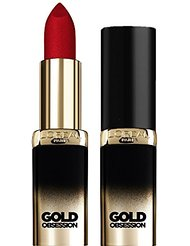 L'Oréal Paris Make Up Designer Color Riche Gold Obsession Rouge à Lèvres 41 Ruby Gold