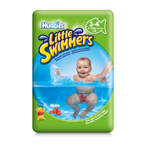 Little swimmers - Maillot de bain jetable - Taille 3...