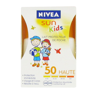 Nivea Sun - Lait Pocket Enfant FPS50 - 50 ml