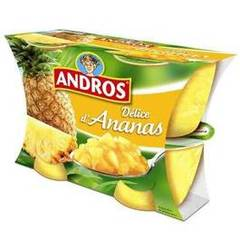 Andros delice ananas 4x100g