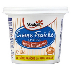 YOPLAIT CREME FRAICHE EPAISSE 30% MG 99.5GX1 10CL
