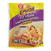 Mini viennoiseries Epi d'Or Assortiment x12 360g