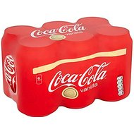Coca-Cola vanille (6x330ml) - Paquet de 2
