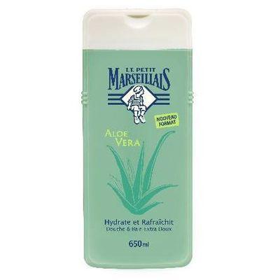 Gel douche et bain aloe vera le petit marseillais 650ml - Gel douche le petit marseillais prix ...