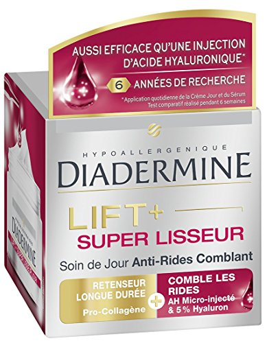 Soin anti-rides comblant lift super lisseur jour DIADERMINE, pot de 50ml