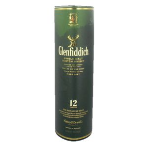 Glenfiddich scotch whisky 12 ans d'age 40° 70cl
