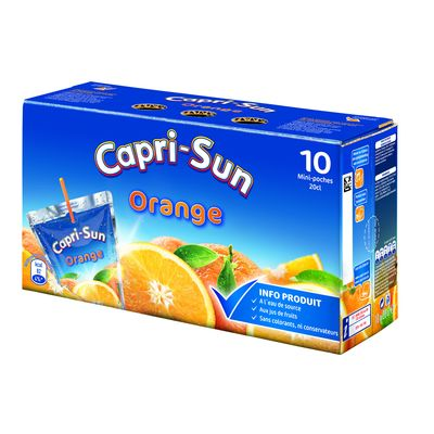 Capri sun orange 10x20cl