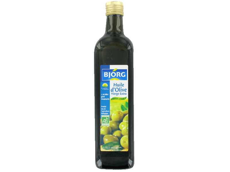 Bjorg Huile olive vierge extra 75cl