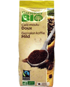 Cafe moulu du Mexique bio, 100% arabica
