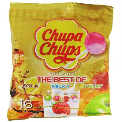 Chupa chups the best of sachet 192 g