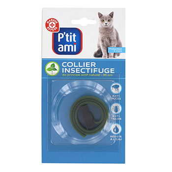 Collier insectifuge P'tit Ami Pour chat x1