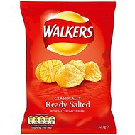 Walkers Crisps - Ready Salted (32.5g)