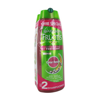 Fructis shampooing color resist 2x250ml
