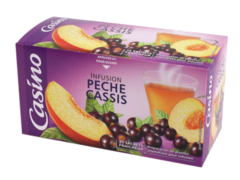Infusion pêche cassis x25