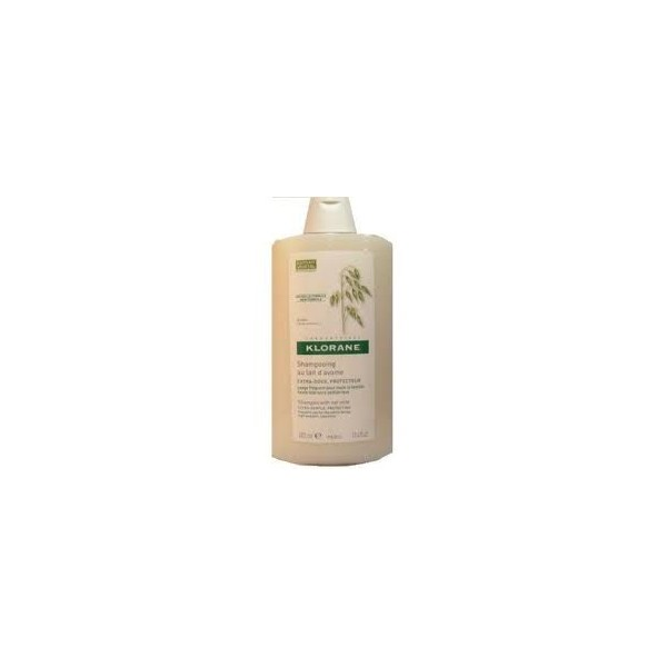 Klorane Shampooing extra doux au lait d'avoine usage frequent 400ml