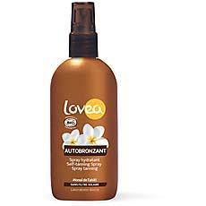 Spray autobronzant bio LOVEA, 125ml