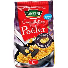 Coquillettes a poeler PANZANI, 400g