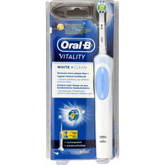 Brosse a dent electrique rechargeable Vitality White + Clean