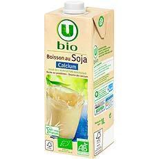 boisson bio au soja et calcium u bio 1l tous les produits boissons di t tiques prixing. Black Bedroom Furniture Sets. Home Design Ideas