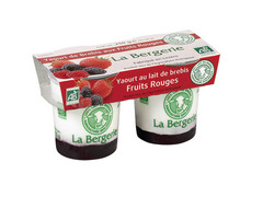 Yaourt bio de brebis fruits rouges