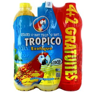 FARDEAU DE 4 PET 1.5L TROPICO EXOTIQUE