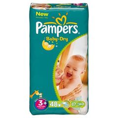 Pampers baby dry geant T3 + x48