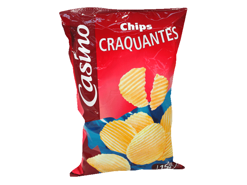 chips craquants 150g