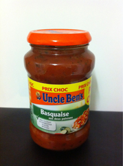 Uncle ben's sauce basquaise 400g