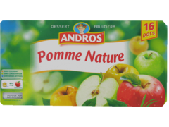 Compote pomme nature