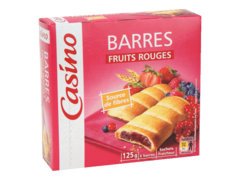 Biscuits fourres fruits rouges