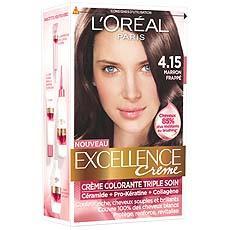 Coloration Creme Ton Sur Ton Excellence Marron Frappe N 4 15 Tous Les Produits Colorations