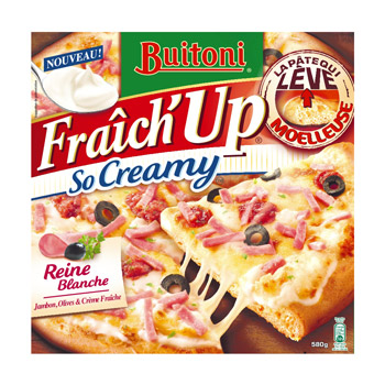 Pizza So Creamy Reine blanche - Fraich'Up