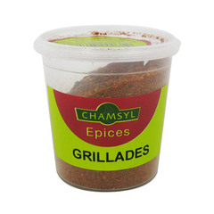 Epices pour grillades Chamsyl, 80g