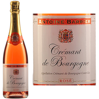 Cremant rose Antoine Barrier 75cl