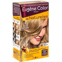 coloration permanente les naturelles eugene color blond clair perle n91 - Coloration Blond Perle