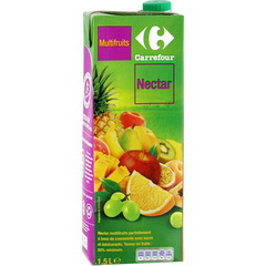 Nectar multifruits Carrefour