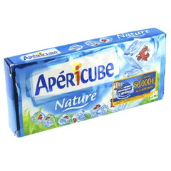 Fromage Apericube nature 23% MG x24 125g