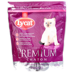 Croquettes chats Premium Lycat Chatons 450g