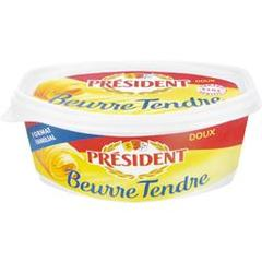 President beurre tendre doux 500g