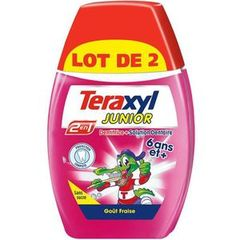 Teraxyl dentifrice 2en1 junior 2x75ml