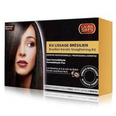 Laura Sim's kit de lissage bresilien