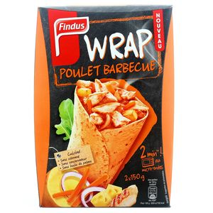 Findus wrap poulet barbecue 300 g