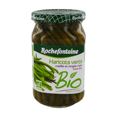 Haricots verts bio extra-fins Rochefontaine