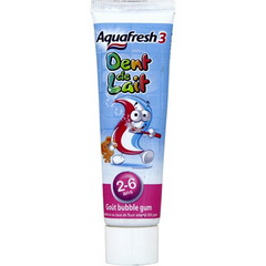 Dentifrice dents de lait, 2-6 ans, gout bubble gum