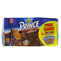 Biscuits Prince Lu Chocolat 5x300g