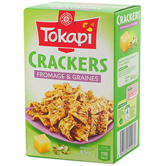 Biscuits Tokapi Crakers fromage 65g